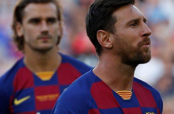 """""""Sabías a lo que venías"""" Messi se lo deja claro al crack"""
