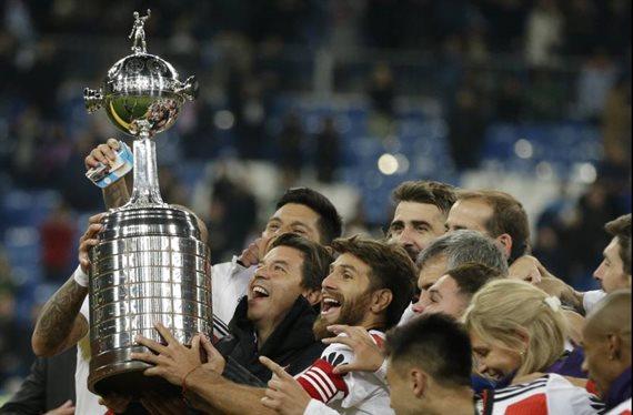 Los detalles de las seis finales de la Copa Libertadores que jugó River