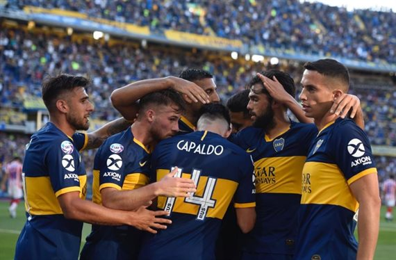 Boca derrotó a Unión en La Bombonera y continúa como líder de la Superliga