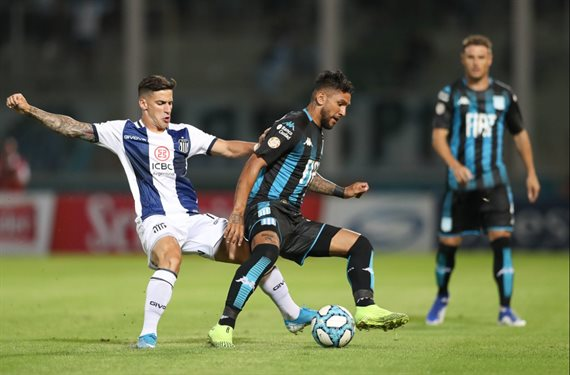 En un partido apasionante, Talleres y Racing empataron 3-3 en Córdoba