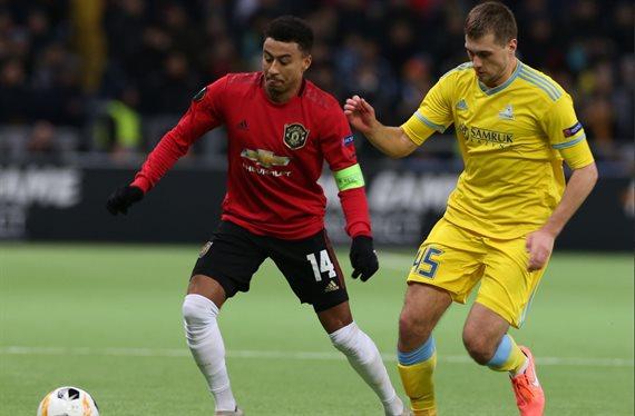 Con el equipo más joven de su historia, Manchester United cayó ante Astana