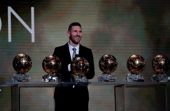 Lionel Messi hizo historia y conquistó el sexto Balón de Oro de su carrera