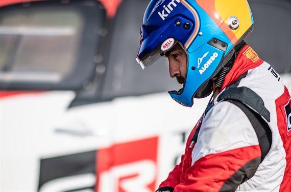 Fernando Alonso lo demuestra una vez más: piel de campeón