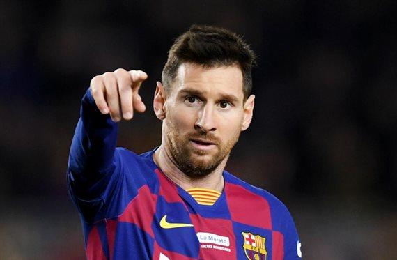 Messi le da un toque de atención por su físico (y no es Dembelé)