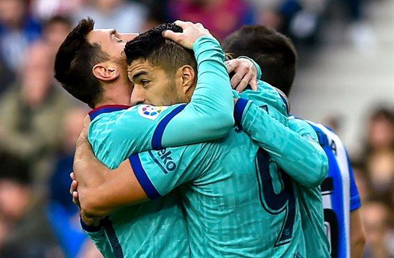 Messi calienta el clásico con una bomba (y estalla ante la Real Sociedad)
