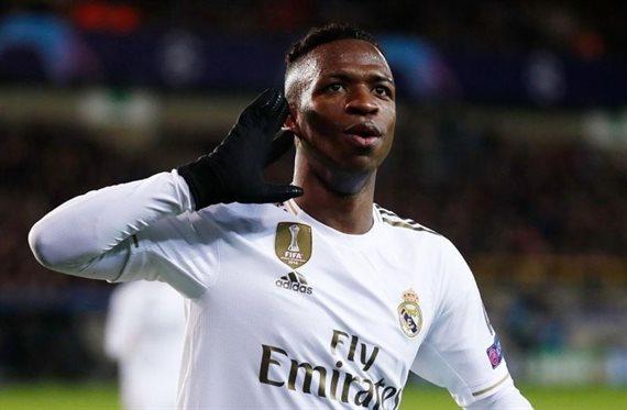 Oferta por Vinícius: Lo sacan del Madrid para llevarlo al ataque del futuro