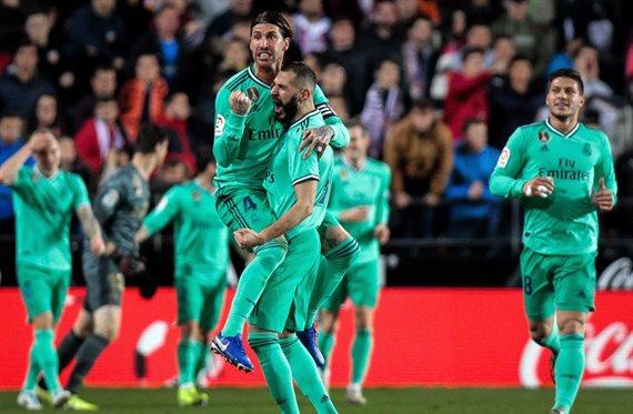 Salta la bomba James en el Valencia-Real Madrid (y deja a Zidane helado)