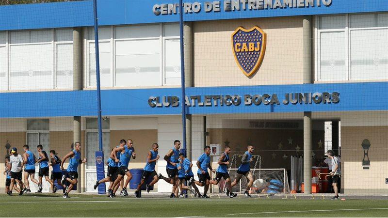 Boca inicia sus entrenamientos en Casa Amarilla