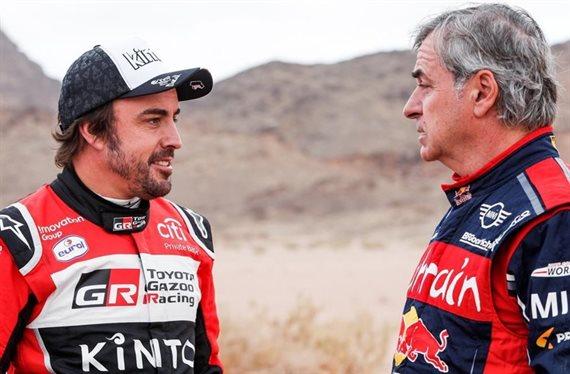 Y llegó. Estalla la guerra entre Carlos Sainz y Fernando Alonso