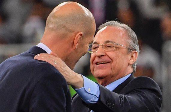 ¡El enfado más bestia de Zidane! El motivo de su enganchada con Florentino