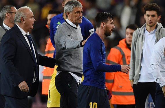 Quique Setién, el octavo entrenador de la era Messi en Barcelona