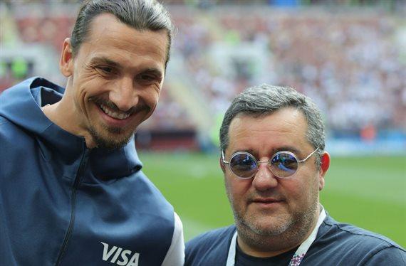Traición a Ibrahimovic con Mino Raiola de cómplice ¡De Italia a España!