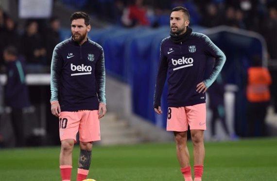 "Quique Setién ya lo sabe por boca de Messi: ""a Jordi ni le toques"""