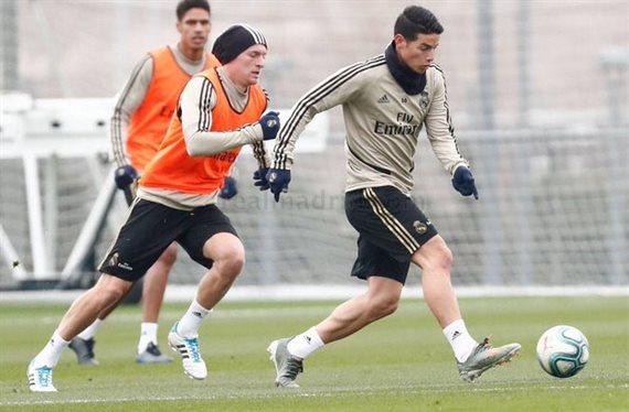 ¡Al descubierto! Plan oculto de Zidane contra Bale y James Rodríguez
