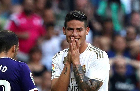 Se acabó: Últimos 12 días de James como jugador del Real Madrid