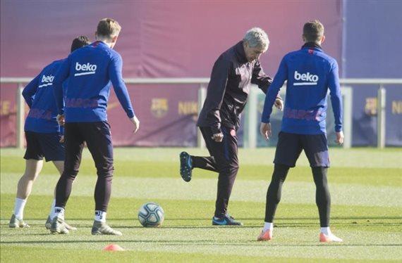 Setién se lo piensa. Un crack del Barça ha dado el visto bueno a salir