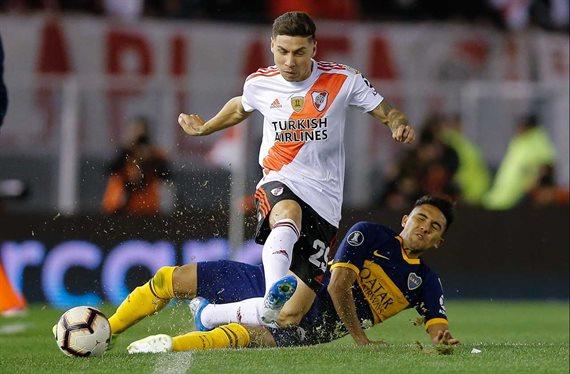 River rechazó una oferta millonaria del West Ham por Gonzalo Montiel