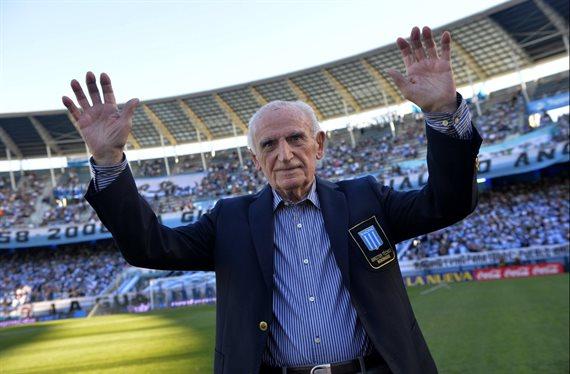 Murió Juan José Pizzuti, leyenda de Racing y gloria del fútbol argentino