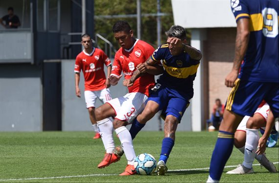 La era de Sebastián Battaglia en la Reserva de Boca comenzó con un empate