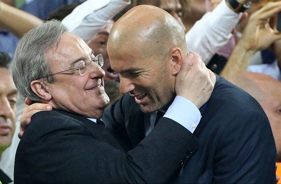 Florentino Pérez se la juega a Zidane con un fichaje que quiere