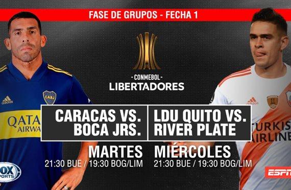 Los cambios en la TV de la Copa Libertadores: ESPN se unirá a Fox Sports