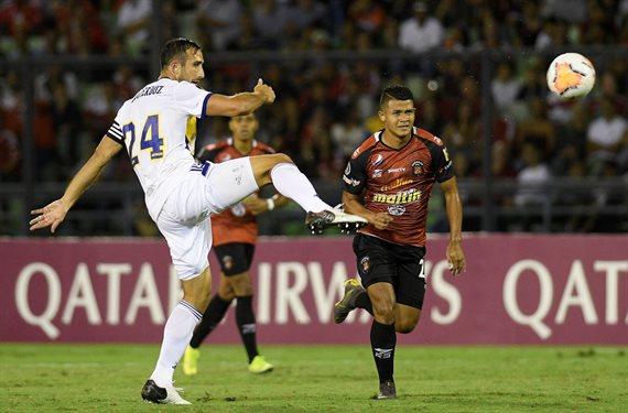 Boca empató 1-1 con Caracas y se marchó con un sabor agridulce de Venezuela
