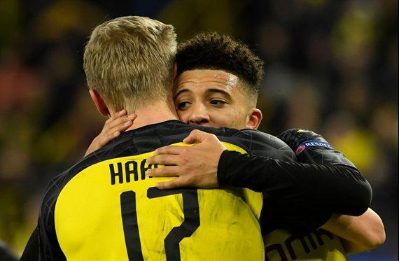 Jadon Sancho está fuera ¡El Dortmund ya tiene sustituto!