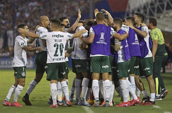 Tigre fue víctima de la jerarquía individual de Palmeiras y perdió 2-0
