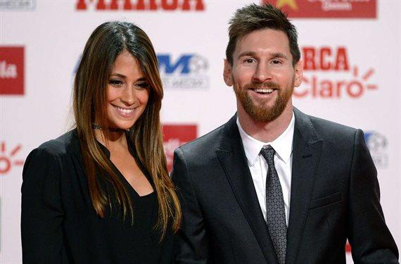 Antonella Roccuzzo calla ¡la bestial pelea de Messi en el Barça con él!