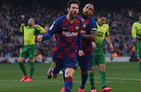 Messi alucina: el tapado del Barça para el 9 (y suena para el Real Madrid)