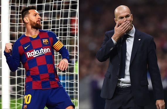 Prefiere a Zidane antes que a Messi: el crack que sueña con el Real Madrid