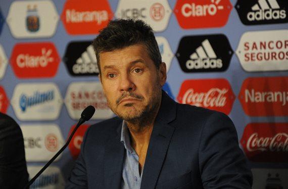 Marcelo Tinelli asumió como nuevo presidente de la Superliga