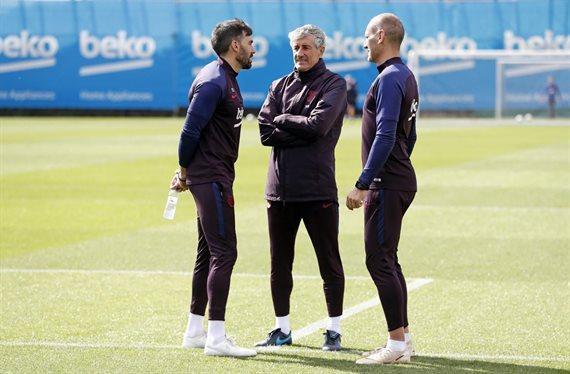 Quique Setién lo pide: el fichaje que pone sobre la mesa del Barça