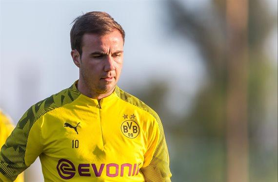 La silenciosa despedida de Mario Götze del Borussia Dortmund