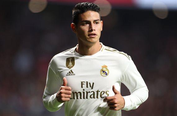 ¡James Rodríguez no se lo cree! El colombiano que se ofrece al Real Madrid