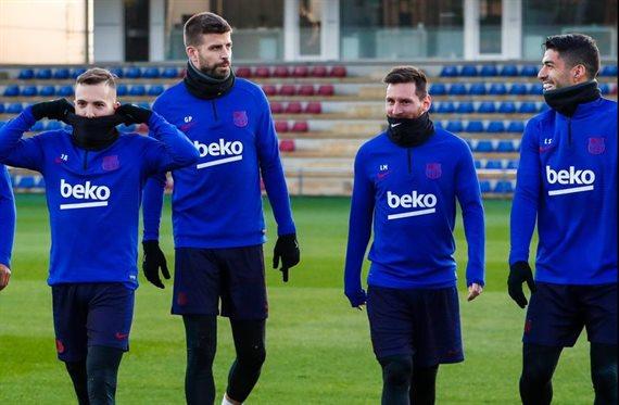 Conflictos en el vestuario del Barcelona