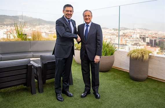 Florentino Pérez se lo quita a Bartomeu: galáctico para el Real Madrid