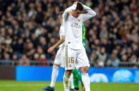 James Rodríguez dejará el Real Madrid y solo un equipo quiere pagarle