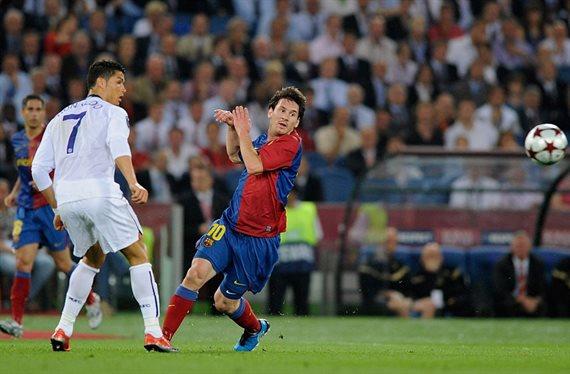 Messi y CR7 no jugaron juntos en el Barça de Pep por una llamada