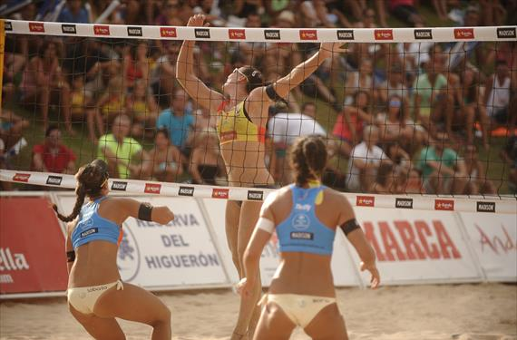 Broche final a la temporada de beach volley 2017