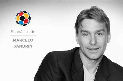Marcelo Sandrin sin pelos en la lengua