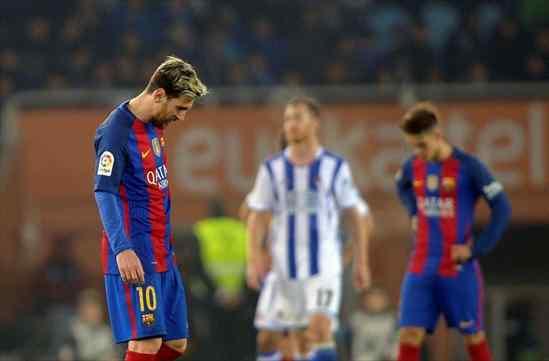 Messi empieza a estar muy quemado con este Barcelona (y con Luis Enrique)