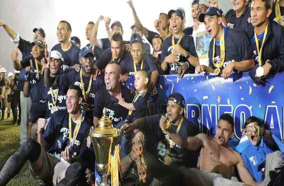 Honduras Campeón de la Copa Centroamericana de Futbol
