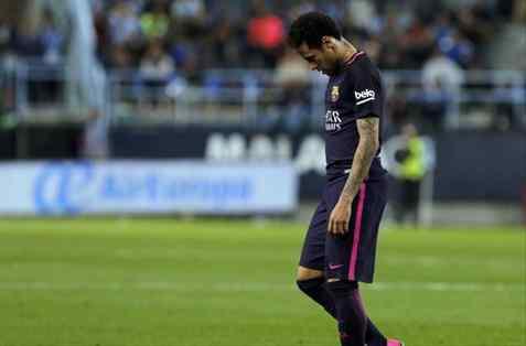 Confirmado: Neymar se perderá el Clásico ante el Madrid en el Santiago Bernabéu