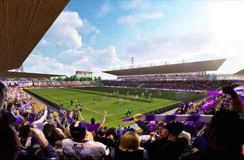 Louisville City FC, de la USL se lanza a la construcción de un nuevo estadio