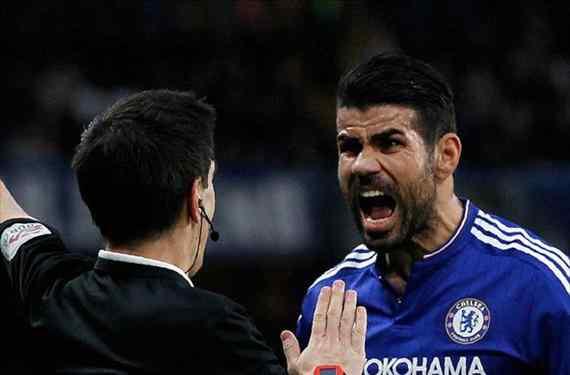 """La 'rajada' monumental contra un Diego Costa muy alejado del Chelsea: """"Es un foco de problemas"""""""