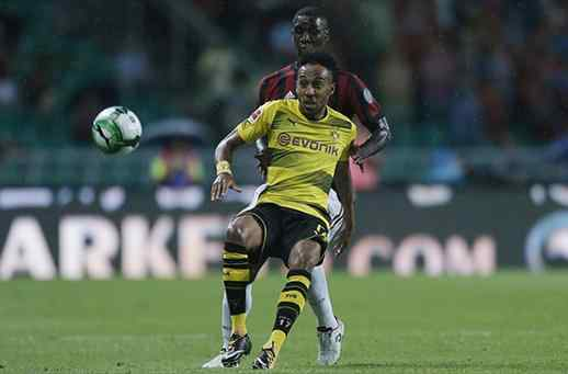 AC Milán cayó frente a Borussia Dortmund en partido amistoso