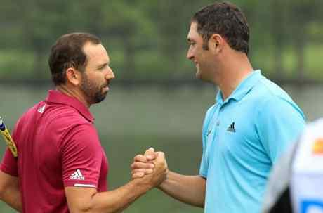 Nuestros dos golfistas, Jon Rahm y Sergio García, en el top 10 una semana más