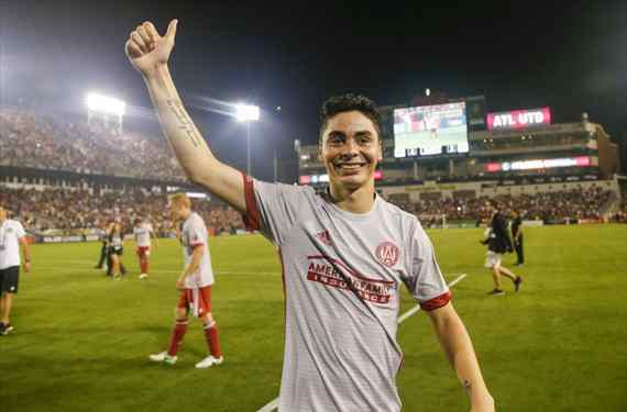 Europa se fija en Miguel Almirón, mejor jugador joven de la MLS en 2017