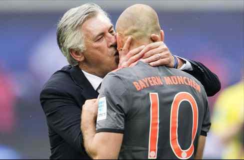 La traición por la espalda de Robben a Ancelotti: los movimientos en la sombra
